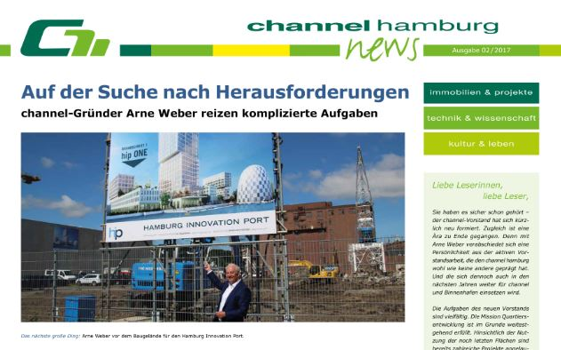 die neue channel news ist da channel hamburg. Black Bedroom Furniture Sets. Home Design Ideas